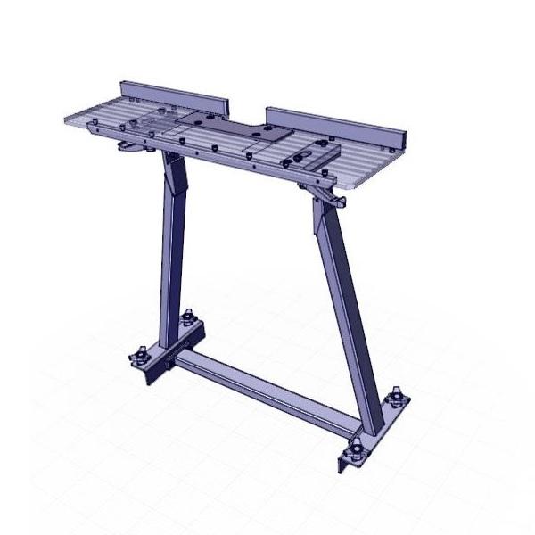 Съемный стол UZP-30 для NKO UZ-50