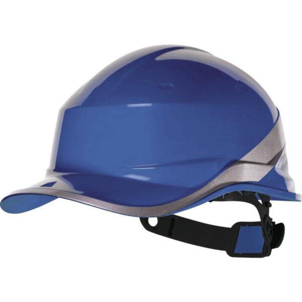Защитная каска из термопластика АБС с козырьком DIAM5