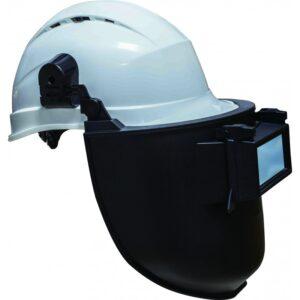 Маска сварщика на каску DIN 11